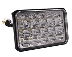 4x6 LED Headlight - 4x6 Suqare 45W